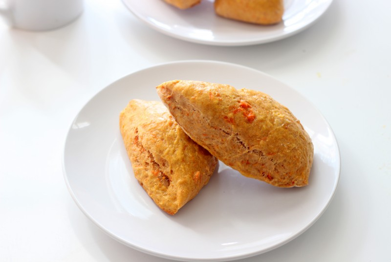 Sweet Potato and Cinnamon Scones (Low Fat)