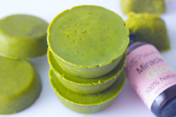Green Tea Body Scrub Cups
