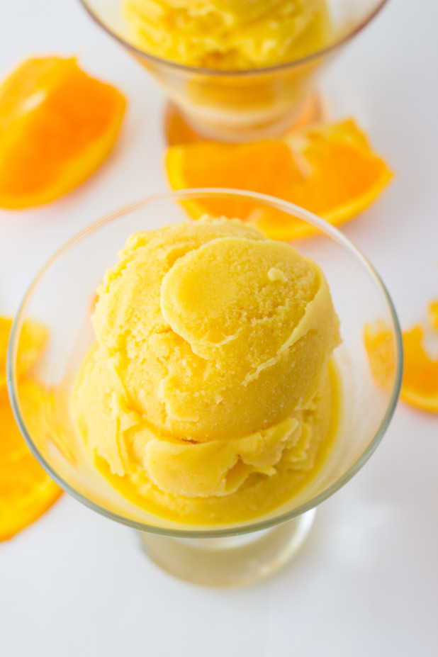Orange Sherbert (Dairy Free)