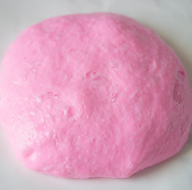 Fluffy Color Changing Slime