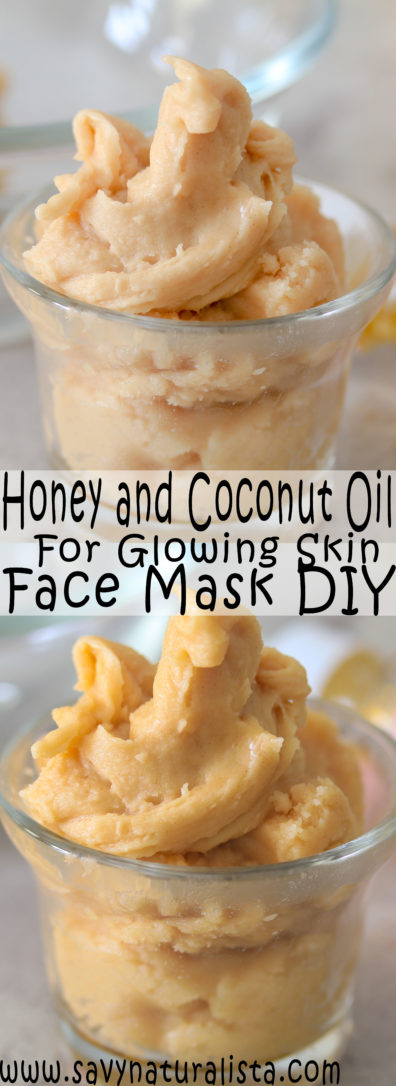 Looking to give your face a dewy and naturally glow look try this two-ingredient face mask. Coconut oil and honey is all you need for this skincare DIY!