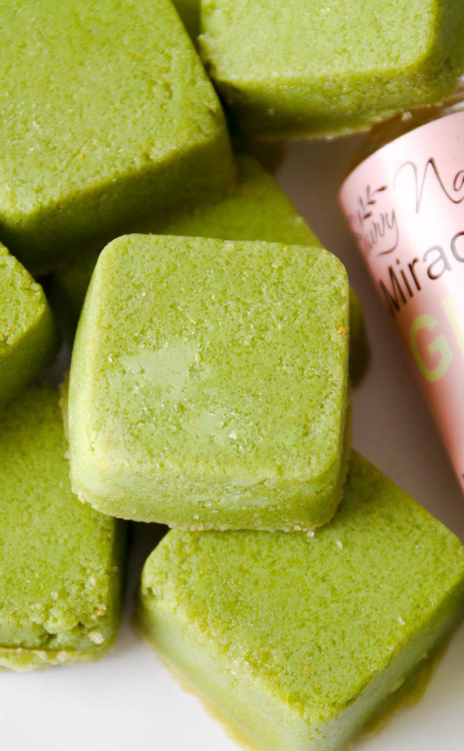 Green Tea Sugar Scrub Cubes Savvy Naturalista